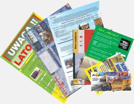 Ulotki i foldery reklamowe Kropka Zabrze